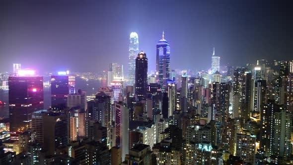 Thumbnail for Hong Kong Skyline At Night - Hong Kong China 4