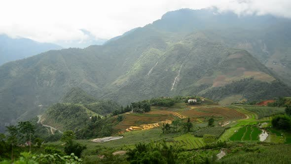 Thumbnail for Rice Terraces In Green Valley - Sapa Vietnam 1