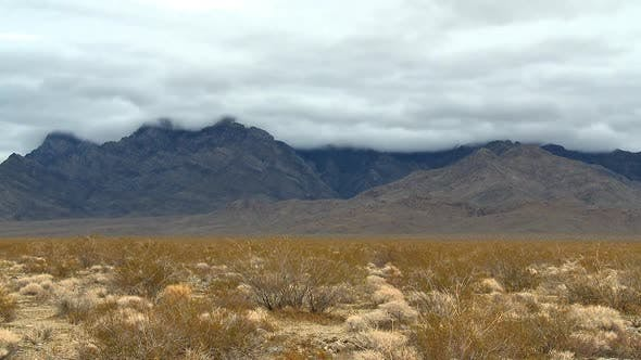 Thumbnail for The Mojave Desert Storm Clouds - Clip 3