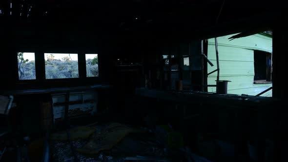 Thumbnail for Time Lapse Of Light Rays In Abandon House During Sunrise - 4k 1