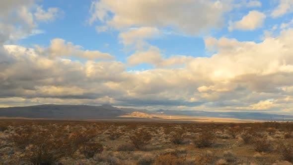 Thumbnail for The Mojave Desert Storm Clouds - Clip 6