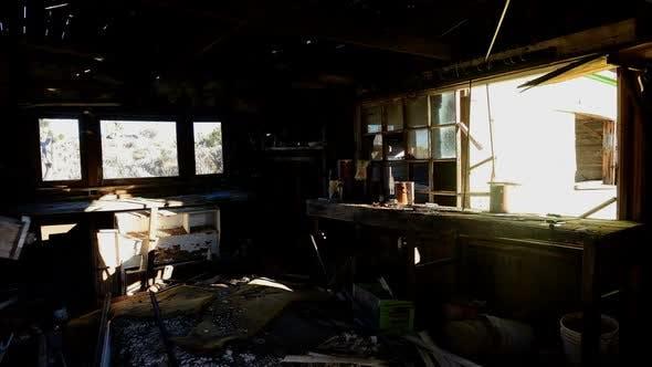 Thumbnail for Light Rays In Abandon House During Sunrise 2