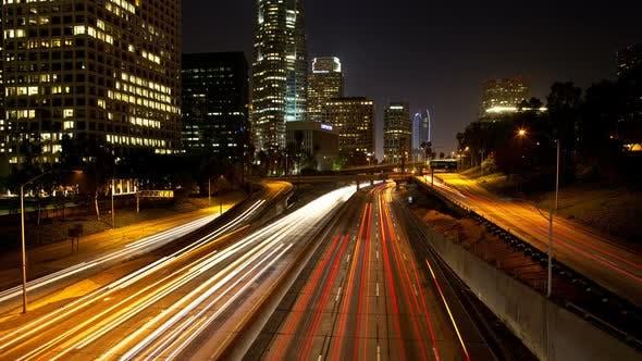 Thumbnail for Los Angeles At Night -2