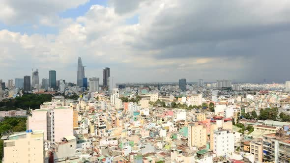 Thumbnail for Ho Chi Minh City  Vietnam From Above