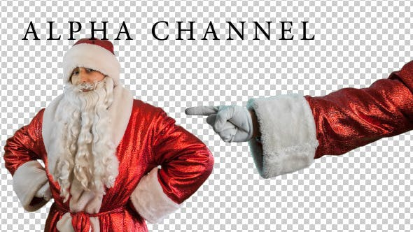 Thumbnail for Santa Claus Shows Gestures