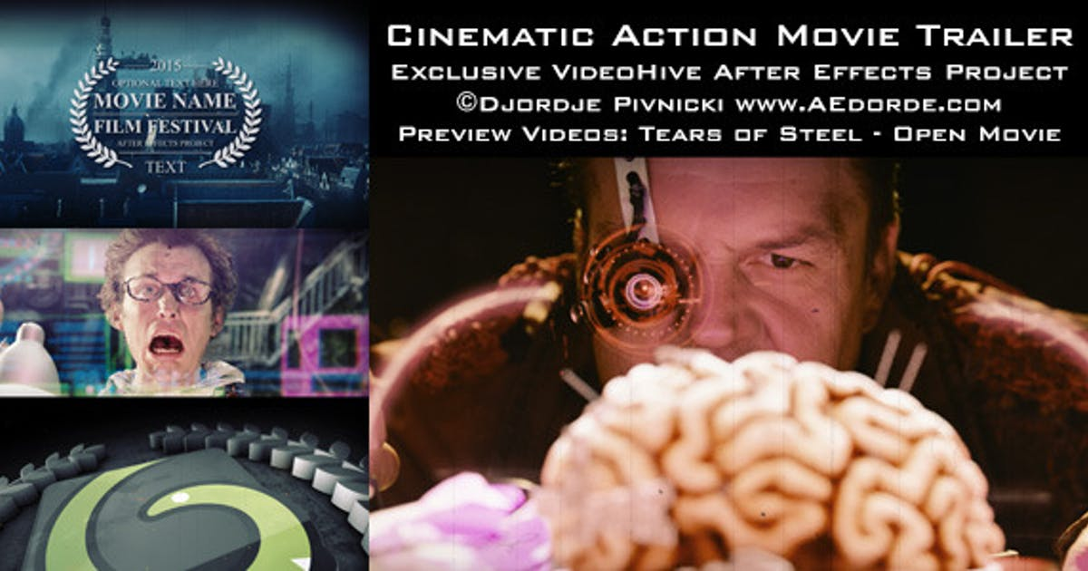 Download Cinematic Action Movie Trailer by dorde