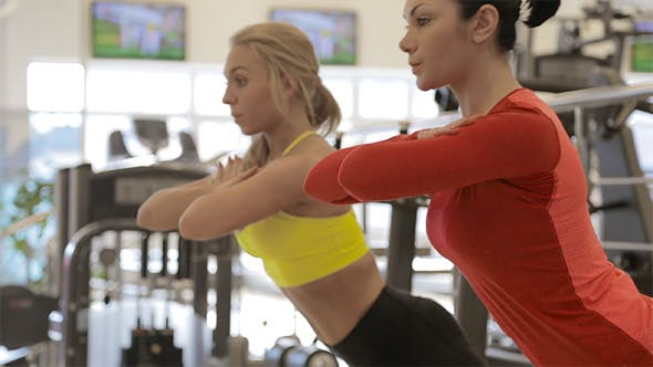 Thumbnail for Girls Training Abdominal Muscles