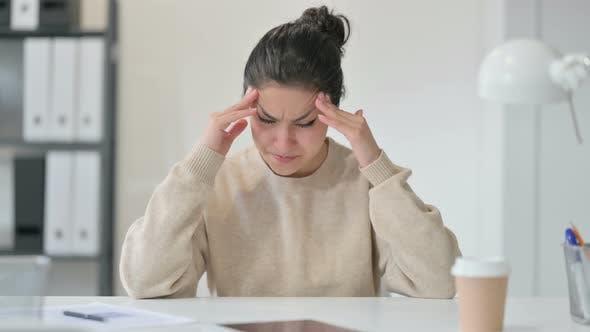 Thumbnail for Indian Woman Having Headache