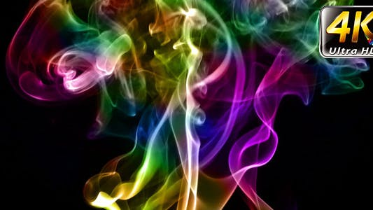 Thumbnail for Abstract Colorful Fluid Smoke Element Turbulence 8