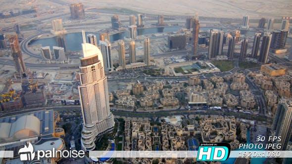 Thumbnail for Dubai Day Fountain Vertical Pan