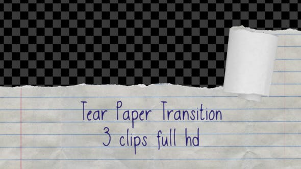 Thumbnail for Tear Paper Transition