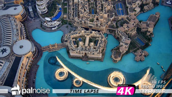 Cover Image for Dubai Fountain Show From Top
