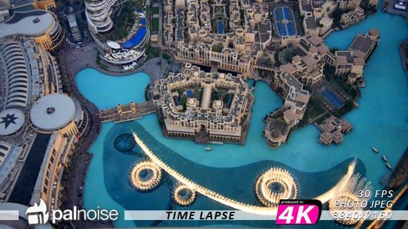 Thumbnail for Dubai Fountain Show From Top