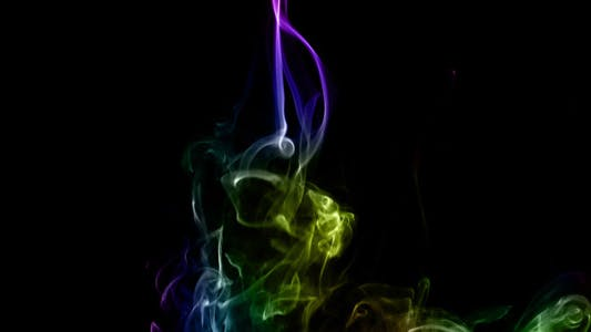 Thumbnail for Abstract Colorful Fluid Smoke Element Turbulence 3