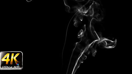 Thumbnail for Abstract White Fluid Smoke Element Turbulence