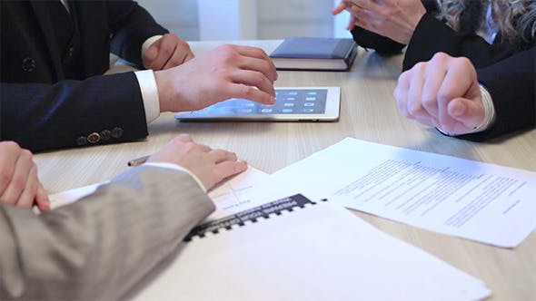 Cover Image for Partners are Meeting in the Office with Handshake