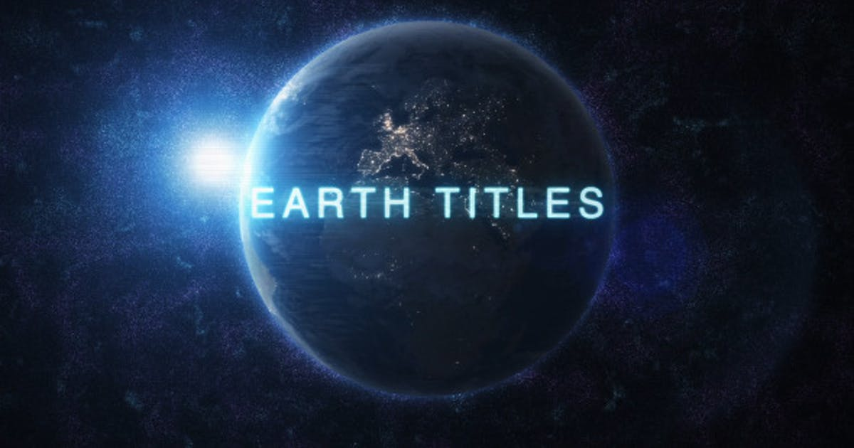 Download Earth Titles by NeuronFX
