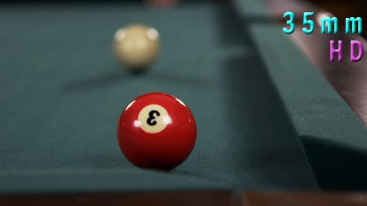 Thumbnail for Pool Table And  Ball In the Corner Pocket