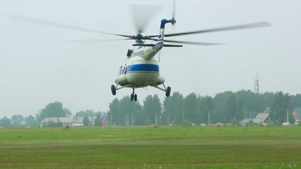 Helicopter Take-off
