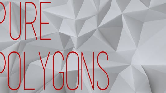 Thumbnail for White Low Poly Background