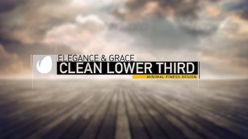 Clean Lower Third