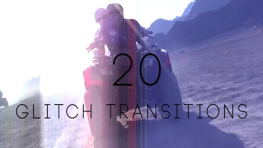 Thumbnail for Glitch Transitions (20-Pack)