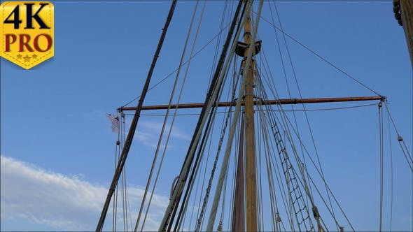 Thumbnail for Set of Ropes on the Sail Mast of the Big