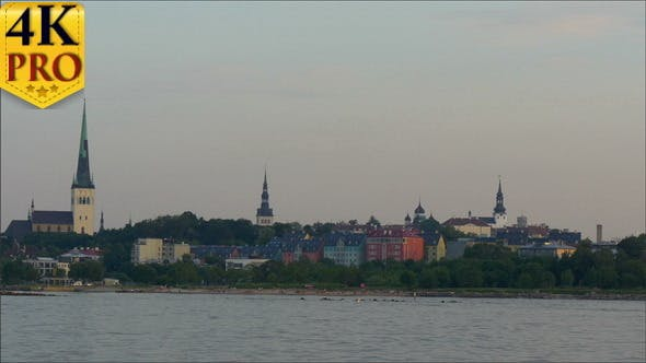 Thumbnail for The Old Tallin View of Estonia from the Sea