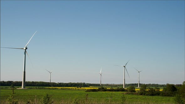 Thumbnail for Five Windmills on Standby