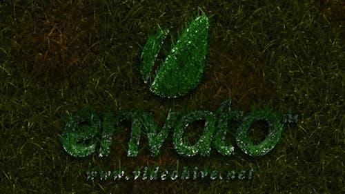 Revelar Logo de hierba