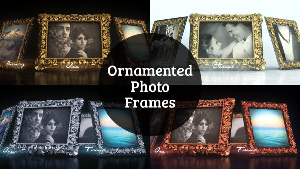 Thumbnail for Ornamented Photo Frames Gallery