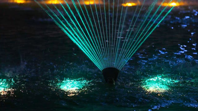 Cover Image for Light flower fountain
