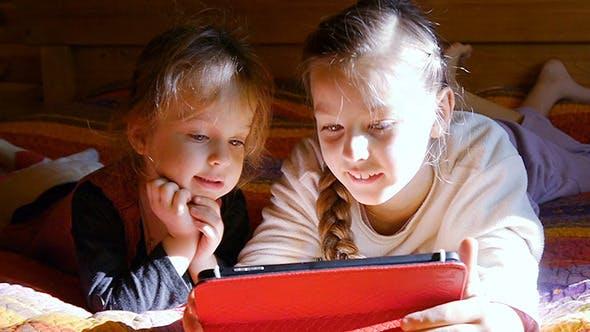 Thumbnail for Girls Play Laptop