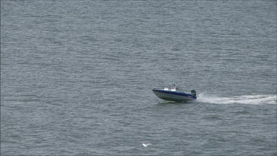 A Fast Craft on the Sea