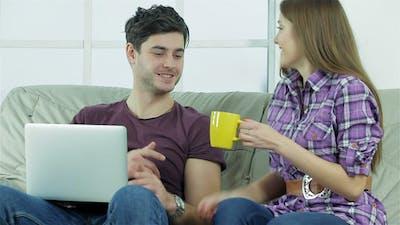 Girlfriend With Coffee