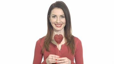 Valentine's Heart Winking