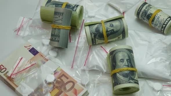 Thumbnail for Monetary Cocaine Drug Business