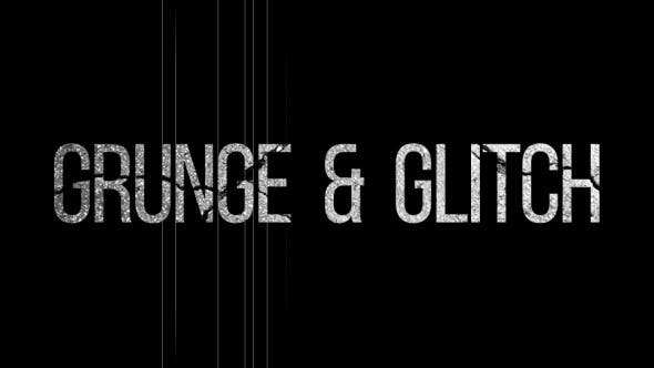 Thumbnail for GRUNGE & GLITCH Logo opener