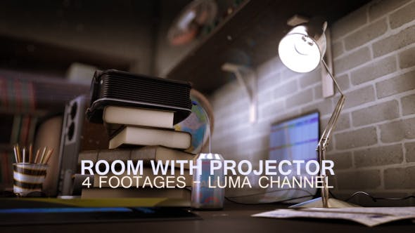 Thumbnail for Old Room With Projector