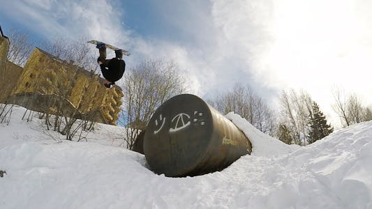 Thumbnail for Snowboard Front Flip