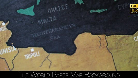 Cover Image for The World Map 56