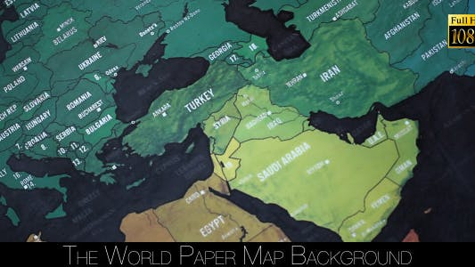 Cover Image for The World Map 59