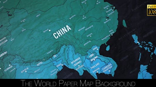Cover Image for The World Map 65