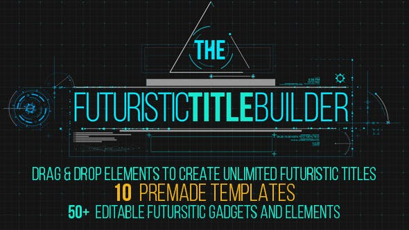 Thumbnail for Futuristic Title Builder