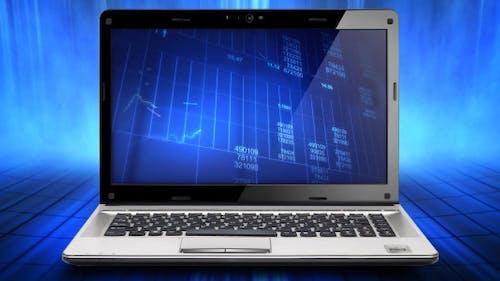 Laptop Motion Background