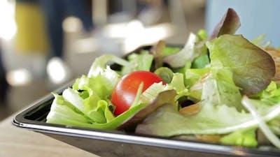 Salad at Restaurant