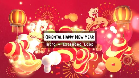 Thumbnail for Oriental Happy New Year 2 In 1 Pack