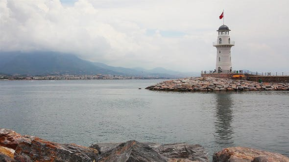 Thumbnail for Lighthouse In Alanya Turkey