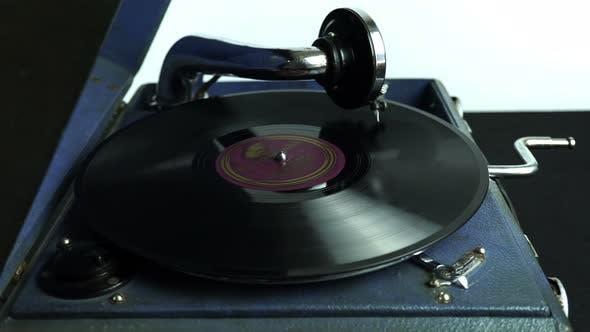 Sound Recording Retro Gramophone