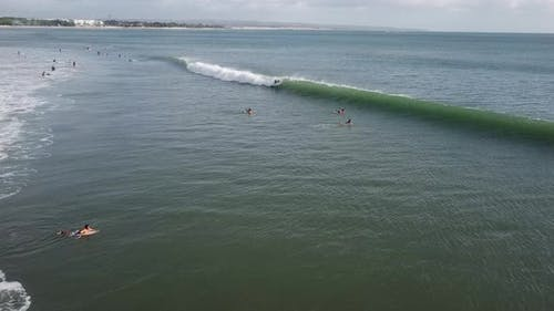 Waves and Surfing in Bali